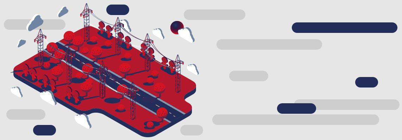 МНУ-1, Монтажно-наладочное управление в Краснодаре, ЭлектроСевКавМонтаж, Строительство линий электропередач